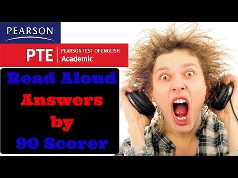 PTE Read Aloud sample answer by 90 scorer