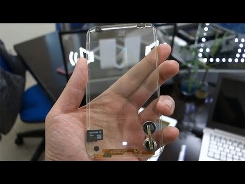 Samsung to sell transparent galaxy phone!