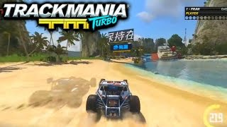 CUSTOM TRACKBUILDER! - TRACKMANIA TURBO #1 with Vikkstar