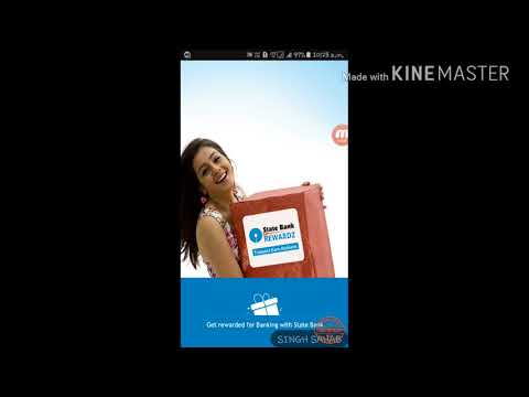 How to sign up SBI reward app and earn points