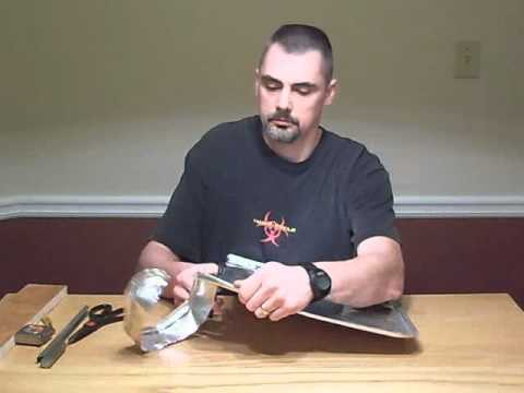 How to make an Aluminum windscreen