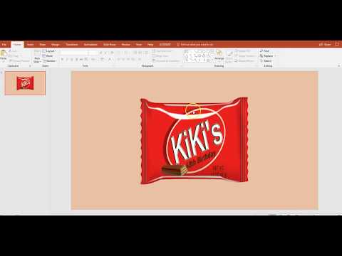 Chocolate Wafers KitKat Wrapper Party Favors DIY - Publisher Template and Mock Up