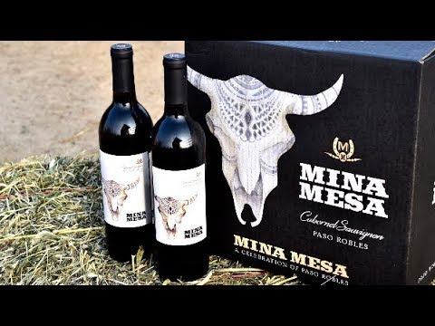 New Cabernet from Paso Robles - Mina Mesa!