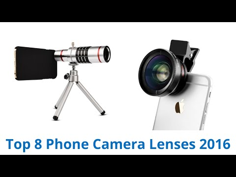 8 Best Phone Camera Lenses 2016