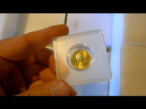 Amateur nuclear physics: neutron activation of gold