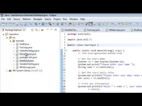 Java tutorial 8: Eclipse Formatting