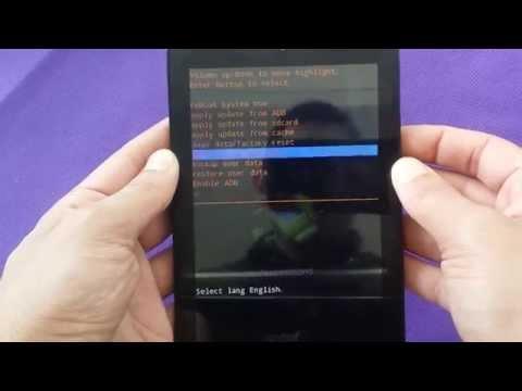 hard reset for alcatel pop 7 tablet for metro pcs