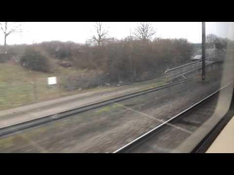 Toget fra stansted lufthavn airport til Liverpool Street station ,
