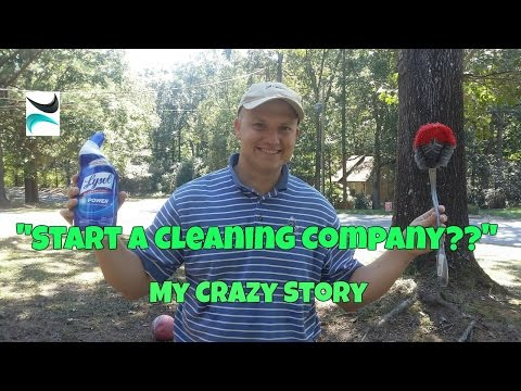 I Lost My Job...So I Started a Cleaning Business....My Story
