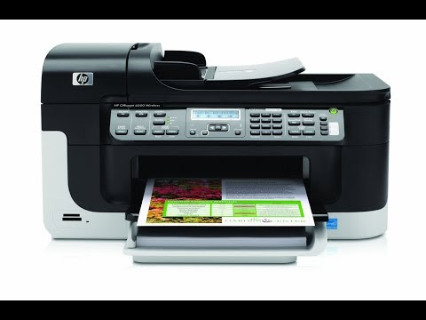Hp Officejet 6500 (E709n) - How To Clean Printhead- Wont Print