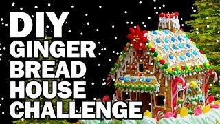 DIY Gingerbread Challenge!!! - Man Vs Corinne Vs Pin