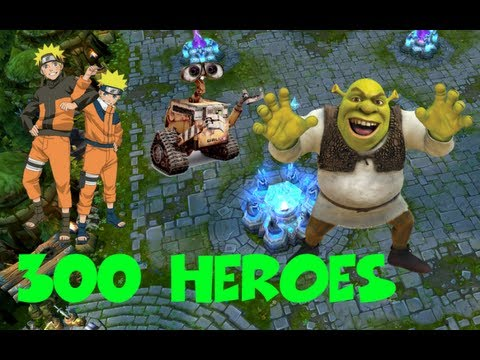 300 Heroes : Fake Chinese League of Legends clone