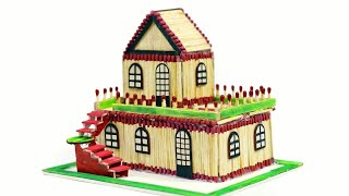How to Make a Wonderful Match stick House