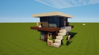 Tutorial Minecraft Hühnerstall Mit Wasser MIT DOWNLOAD - Minecraft haus unter wasser bauen