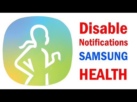 How to Disable Samsung Health Notifications