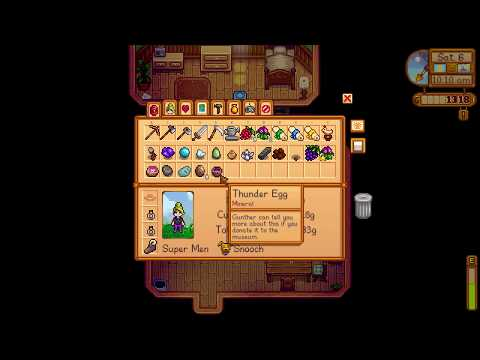 How to get Thunder Egg mineral - Stardew Valley