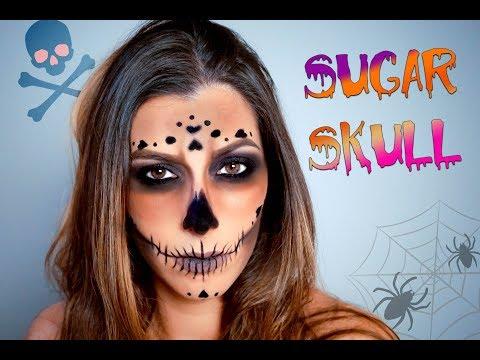 Jordan Liberty Inspired Sugar Skull   Recreated
