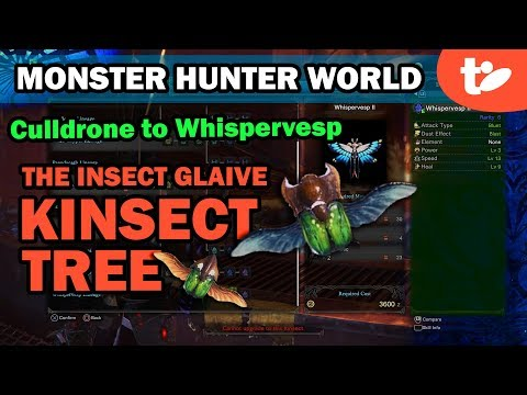 Buggin' Out: Monster Hunter World Kinsect Tree for Insect Glaive Users