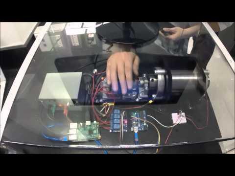 Completed Prototype Demonstration Flywheel Energy Storage System