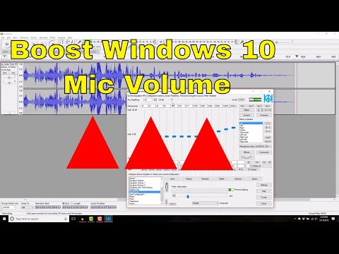 How to Increase Microphone Volume on USB Headset in Windows 10