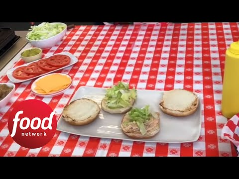 How to Make Animal-Style Burgers | Food Network