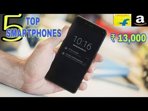TOP 5 Best Android Smartphones Under ₹ 13000 You can Buy Online 2017 | 4GB RAM | DUAL CAMERA