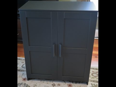 IKEA Brimnes Cabinet with Doors Assembly
