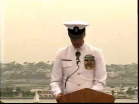 Author of Someone Like Me Gives His Navy Retirement Speech