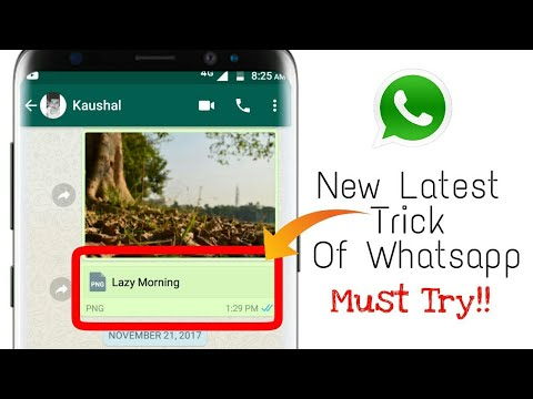 WhatsApp Latest Trick You May Not Know-2017