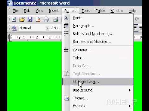 Microsoft Office Word 2003  Add a background color or texture to a Web page online document,email