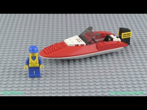 LEGO City 4641 Speed Boat build & review!