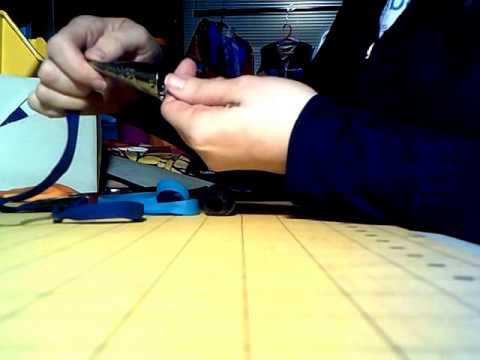 How to string jingles for a jingle dress