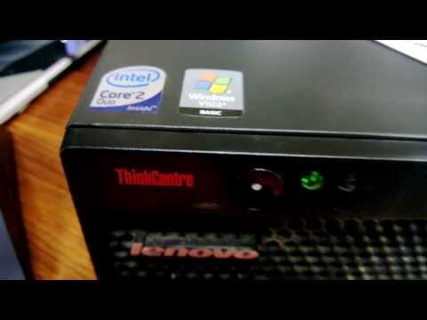 ThinkCentre M57 - Windows 8 boot