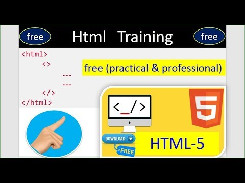 Web Development Training | Free Course ( HTML, CSS, Bootstrap, Java Script, jQuery, PHP) #1