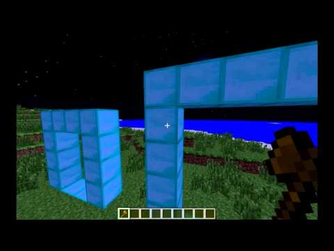 Minecraft: How to use Multiverse Portals Plugin!
