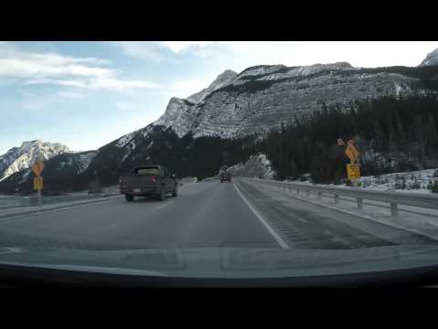 Canmore to Calgary - December 30, 2014