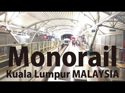 MALAYSIA Kuala Lumpur #15 [Walk] from KL Sentral Monorail Sta. to Muzium Negara MRT Sta.