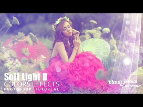 Blend And Retouch Creamy Colors Effect Tutorial Photoshop