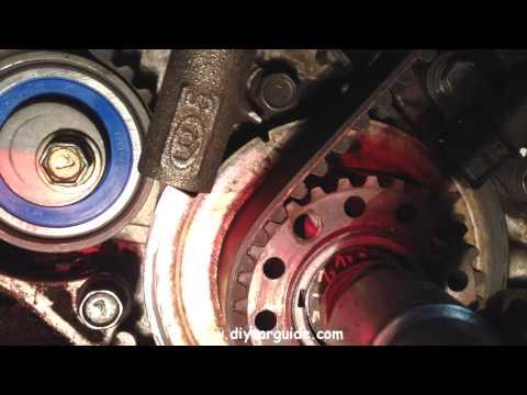 Hyundai Santa Fe 2.0 Petrol, Timing Belt Kit Replacement. Part 3 of 3.