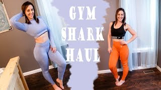 d6ae97e50773e GYMSHARK TRY ON HAUL | Camo Seamless, Vital, Flawless Knit, Flex Collections