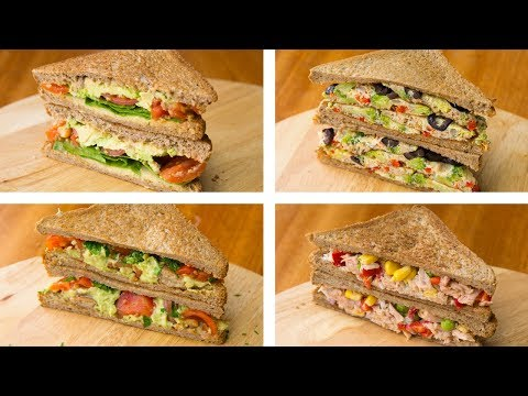 4 Healthy Sandwich Recipes For Weight Loss | Healthy Lunch Ideas