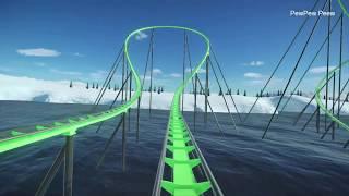 Planet Coaster: The Iceberg RollerCoaster POV