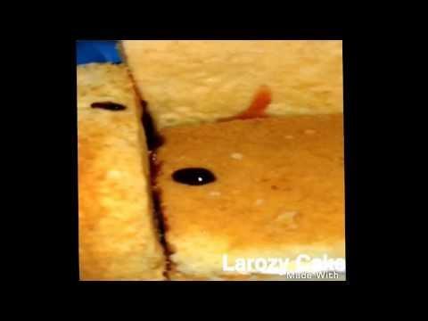 how to make sofa cake by larozy cake