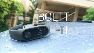 Boltt Fit Fitness Tracker Unboxing, Features, Setup