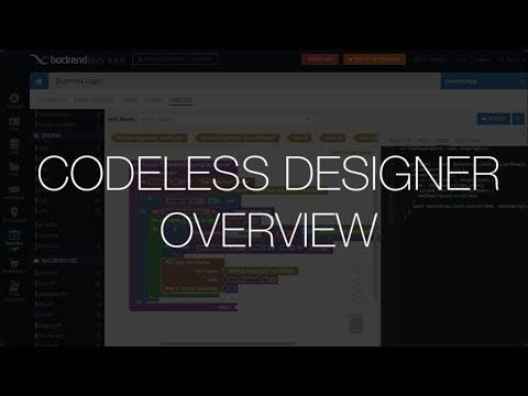 Codeless Designer Overview