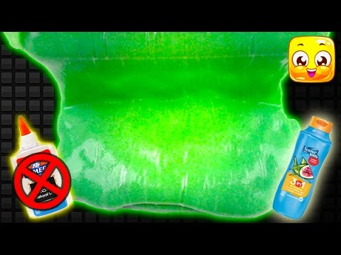 How To Make Slime without Glue, Borax, Baking Soda, Cornstarch, Liquid Starch! GIANT Fluffy Slime!
