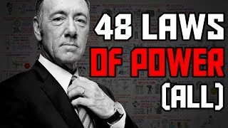 The 48 Laws of Power by Robert Greene Animated Book Summary - All laws explained