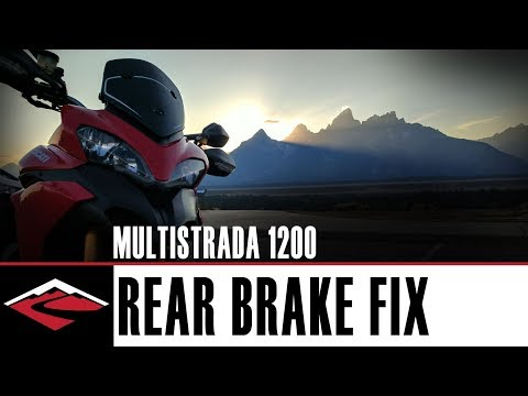 How To Fix the Mushy Rear Brakes on the Ducati Multistrada 1200