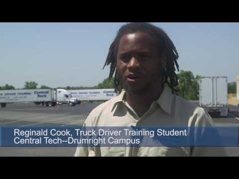 Central Tech's Truck Driver Training