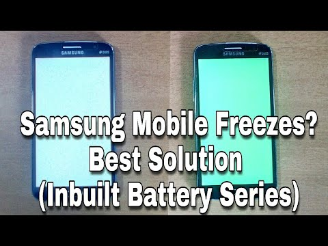 HINDI - Samsung Mobile Hang - Stuck Problem Solution A E Series- mobile hanging solution